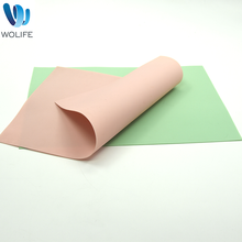 2018 Wo Silicone Heat Resistant Organic Silicone Mat Placemat for Kids Wholesale