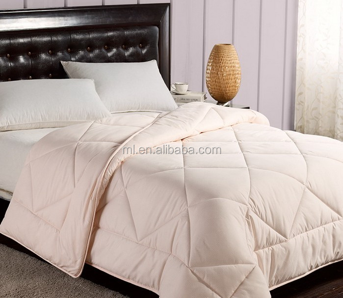 5 Star Hotel Used Super Soft 90% White Goose Down Quilt