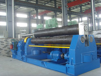 Three rollers steel cylinder bending machinery W11-20X2500