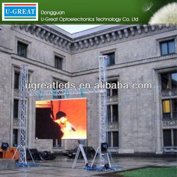 2015 new products on market p10 outdoor DIP flexible led curtain display