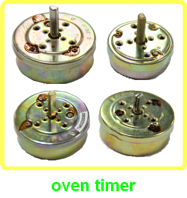 oven <strong>timer</strong> for oven parts