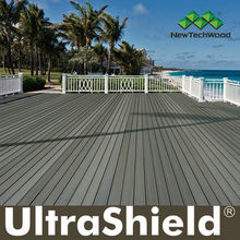 Capped composite decking, UltraShield by NewTechWood