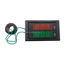 Digital AC Ammeter And Voltmeter AC 80/ 300V 100A Dual Display LED Volt voltage Current meter