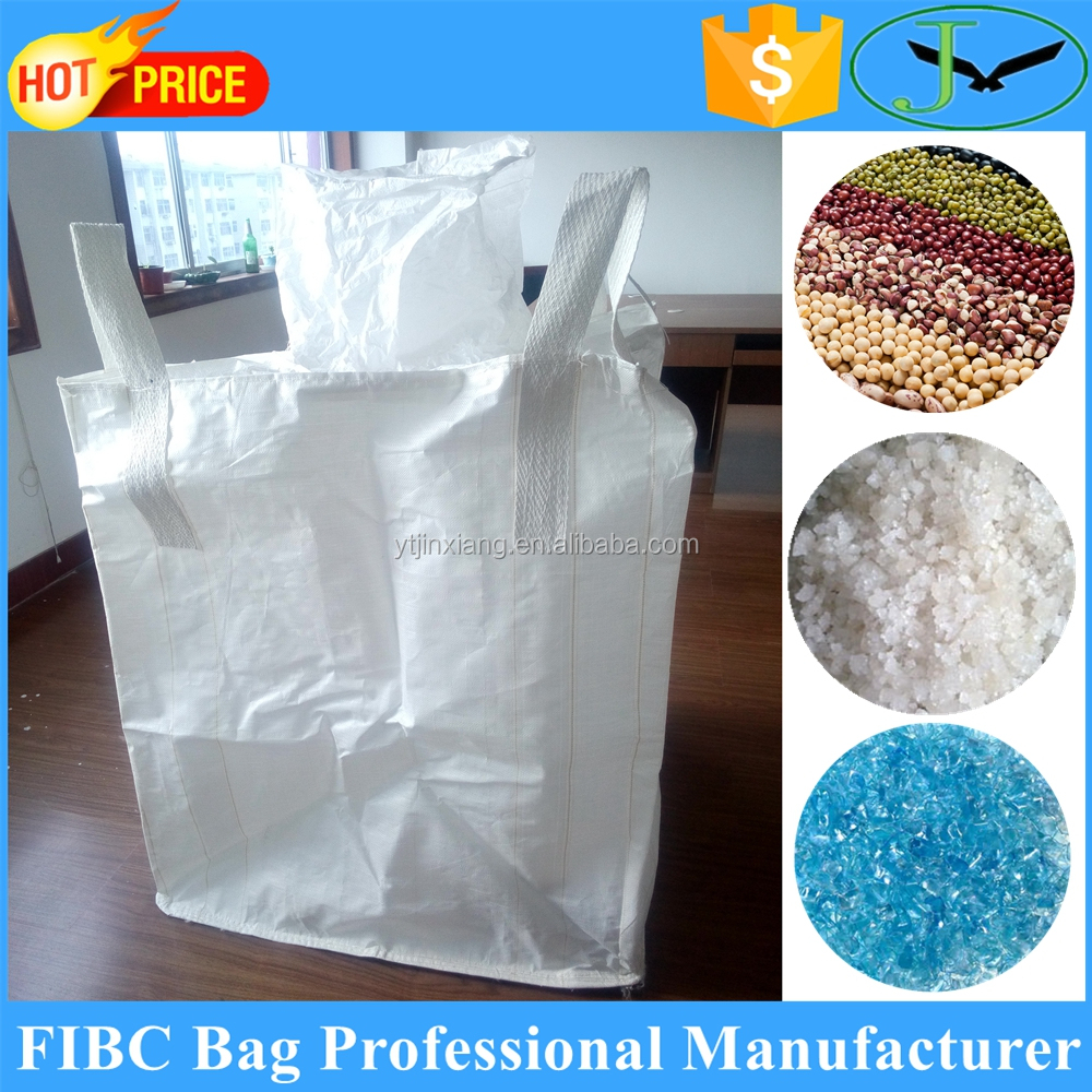 Flexible intermediate bulk containers polypropylene pp fibc bags stacking containers