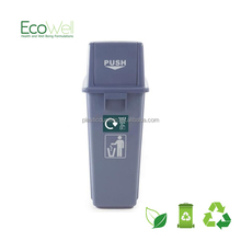 Swing Top Waste Watcher Bin With Rectangle Lid