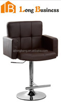 Popular design swivel height adjustable PU bar stool