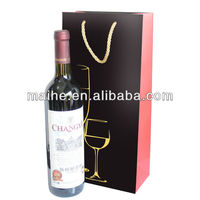 paper bag for wine/decorative paper wine bottle bags/paper wine bags cheap