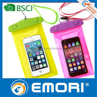 2015 hot selling good quality for iPad Vinyl waterproof smartphone bag