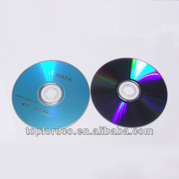 Reliable Chinese Suppliers Producing Blank CD and DVD