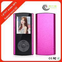 Digital mp3 mp4 playe indian song download player with bluetooth fm radio