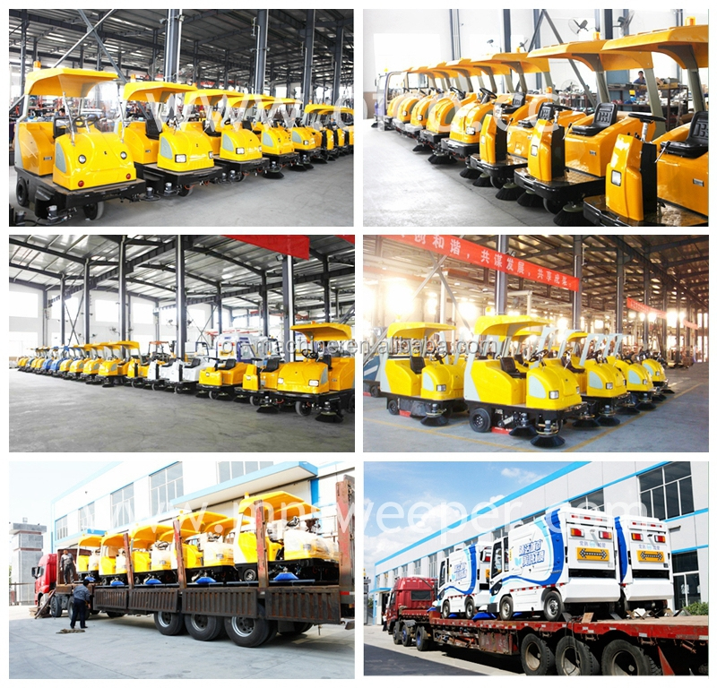 High quality E800LD lithium battery road sweeper