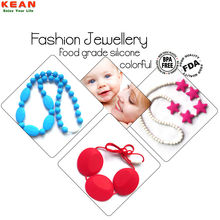 Silicone Balance Tooth Best Selling Loop Teether Bead/silicone baby teething jewellery beads