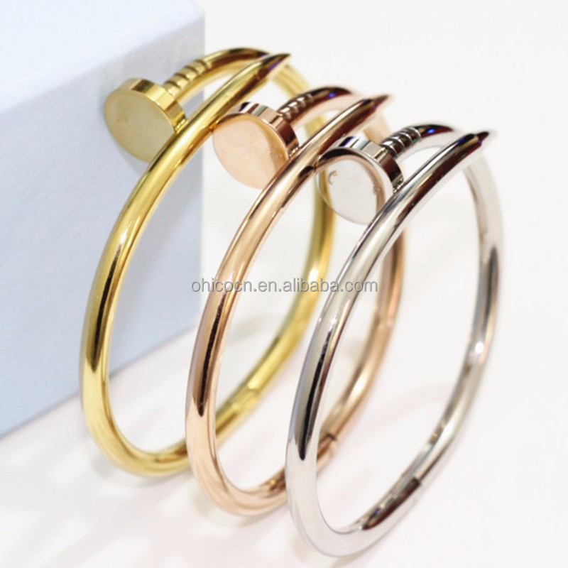 Brand new stainless steel expandable bangle