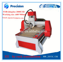 1.5KW Fast speed small cnc wood cutting machine / cnc woodworking machine for wood/metal/stone/jade