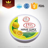 Privater label best strong holding hair color styling wax men fashion hair wax