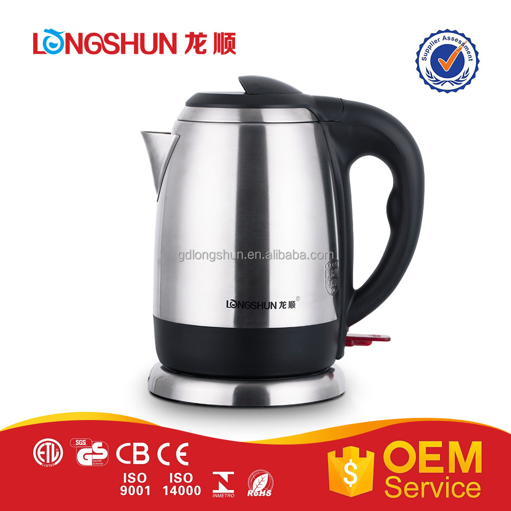 Sm appliance products #304 stainless steel cheap electrical kettle