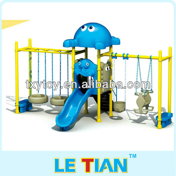 2011HOT!Funny patio swing and slide kids toy