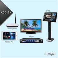 Professional HDMI HDD Karaoke Supports Two 3TB Hard Drive & Wireless Touch Screen(KOD-8+)