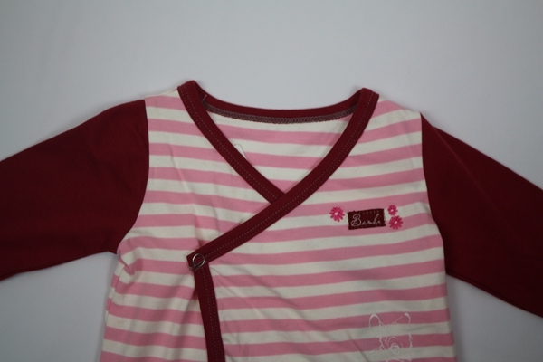 Striped long sleeve baby girl tops infant clothing fall cotton T Shirt for girls