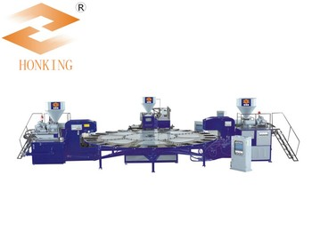 TPR 3 COLOR SPORT SHOE SOLE INJECTION MACHINE
