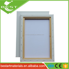 "30*40cm Economy Cotton Wholesale Art Painting High Quality Blank Canvas with 1.2""deep*1.2""width pine wood"