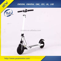 2016 Newest & Fashion quick fold-up design, Aluminum folding ELectric Street Scooter for adults