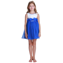 Wholesale Girls Sleeveless Princess Cotton Dress Baby Girl Party Dress Children Frocks Design