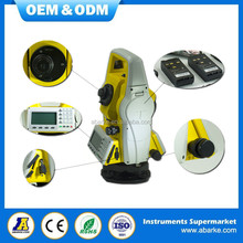 High accuracy reflectorless 350m robotic total station, low price surveying total station