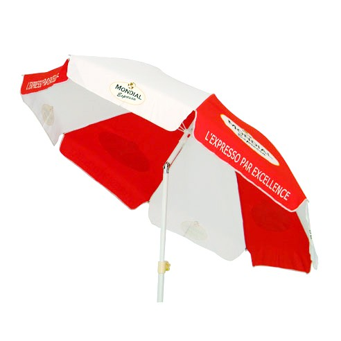 190T POLYESTER 180CM*8K Wholesale Advertising Beach Umbrella with tilt
