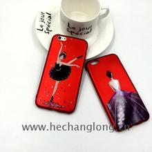 Chrome Electroplate Silicon Tpu tpu case for iphone 6 plus
