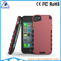 China supplier mobile phone case for iphone 5s, PC+TPU material combo case cover for iphone 5