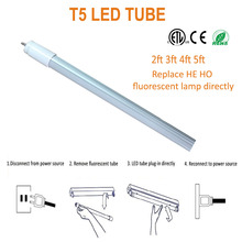 china lamps manufacturer growshop t5 led light tube 4ft 6500k for plant seeds agriculture growth