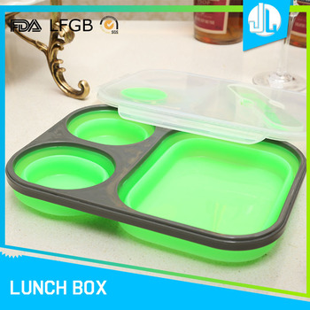 New production silicone adult lunch box