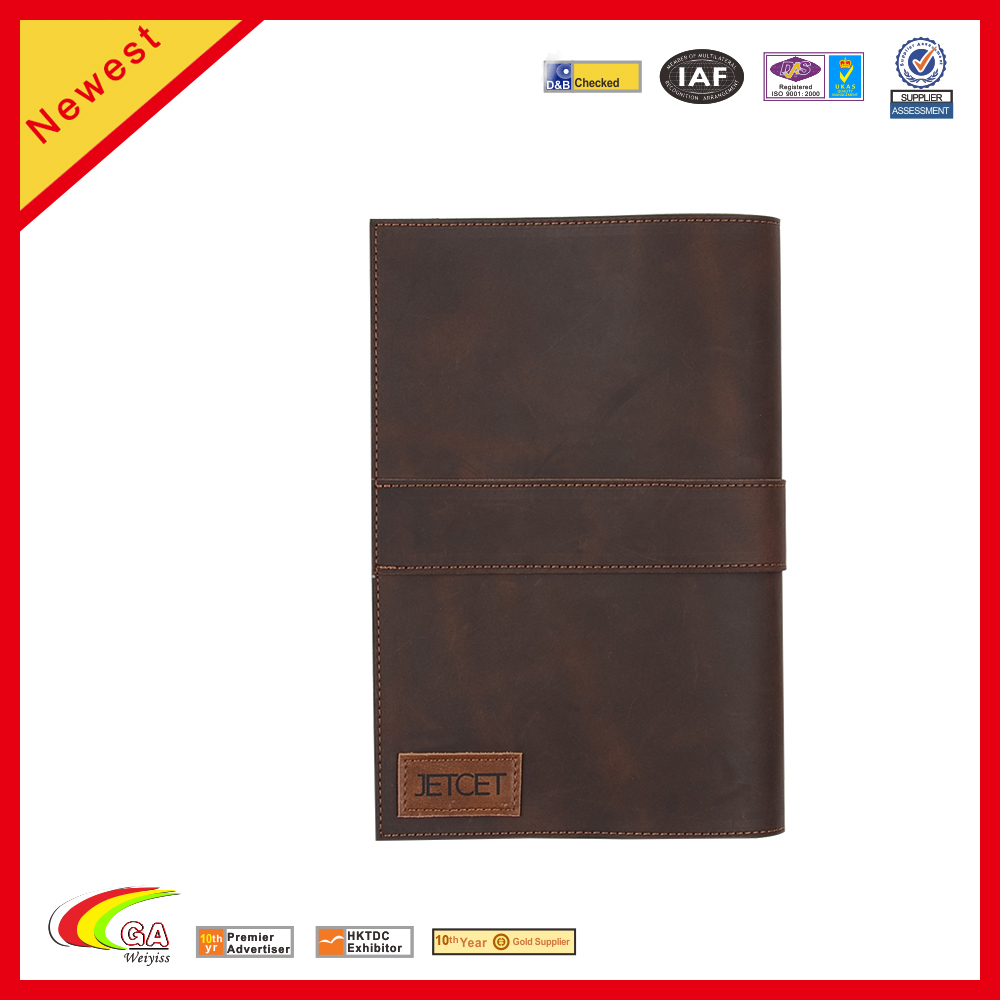 Leather Magazine USB Cable Portable Storage Bags