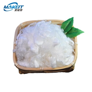 Makeit hot selling polyester viscose fiber price for spinning