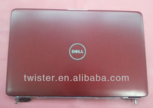 LAPTOP SHELL For Dell 1545 lcd cover with bezel and hinges red color A cover +B cover+Hinges