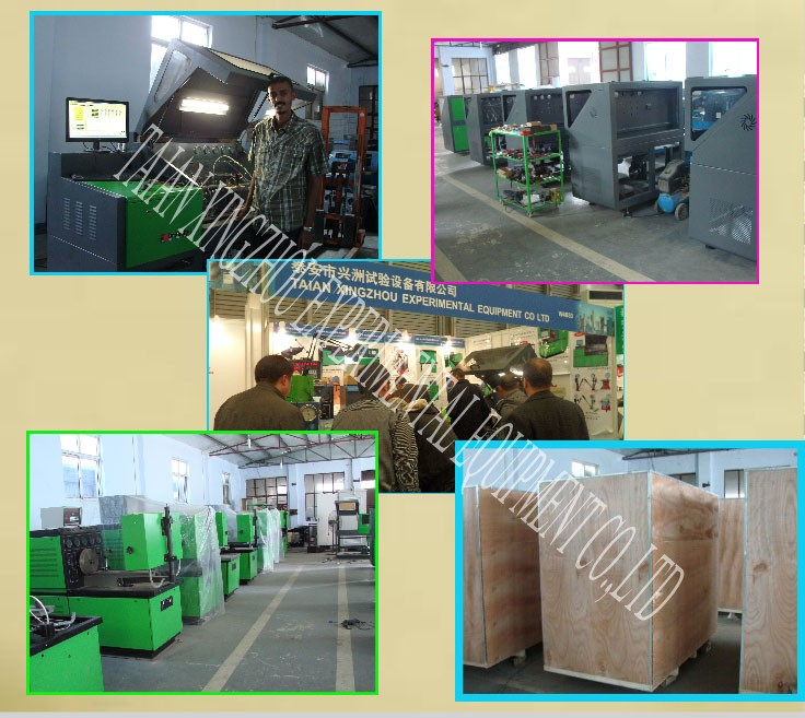 2017 multifunctional common rail system test bench