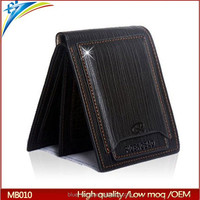 2015 top selling Trend mens wallet Pidengbao brands wallet with inserts sim card holder
