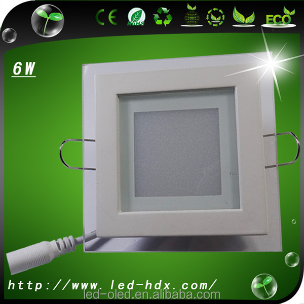 Newest round energy saving house 10x10 cm led panel lighting