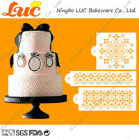 Wholesale High Quality Victorian Crochet Wedding Cake Stencil Set UK