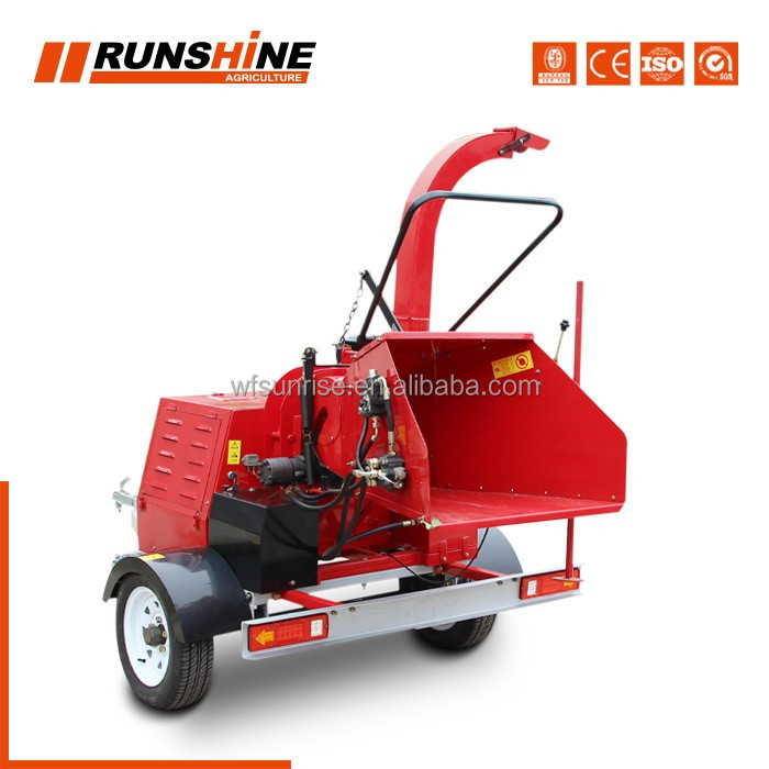 DWC-22 tree branch chipper shredder in forestry machinery