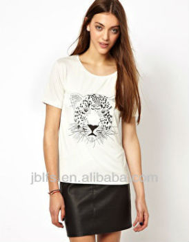 Hot sell custom oem women t-shirt
