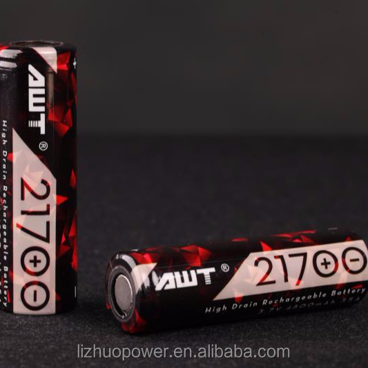 AWT 4800mah new product 21700 disposable electric bicycle battery 12v 12ah wax pen battery vape mods