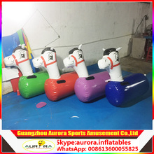 Hot sale adults and kids inflatable pony hop horse with cheaper price