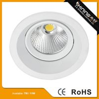 Zhongshan supplier aluminum aluminum housing led downlight