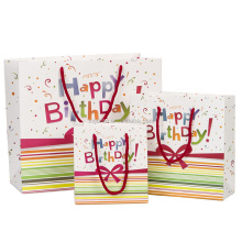 Made in China happy birthday cake theme packaging bag
