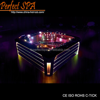 Hot sale!!4 adults luxurious outdoor spa/hot tub/cold spa hot tub with multiple massage for home and hotel