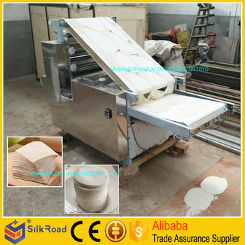 Professional roster duck wrapper making machine