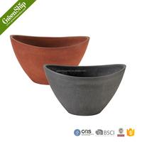 unique decorative coloful garden cheap flower pots