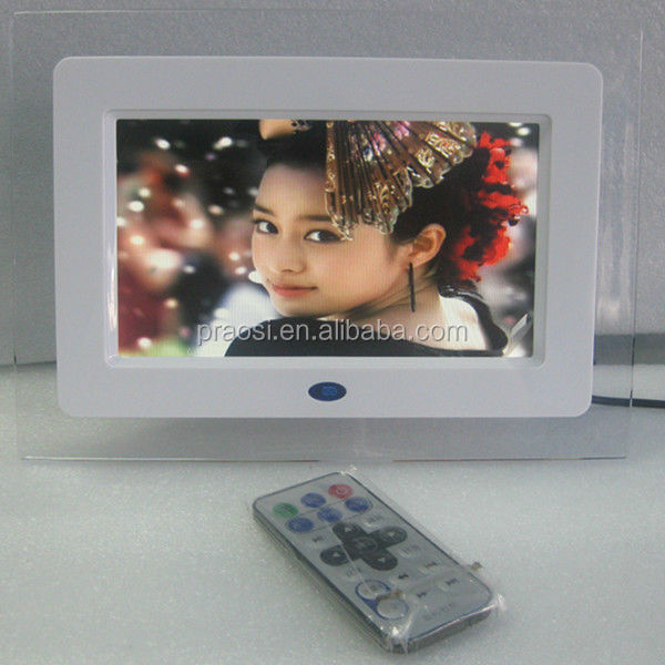 "digital e-book picture frame, lcd screen with 16:9 digital screen 7"" digital photo frame"